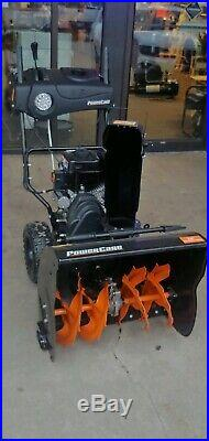 Power Care 24 in. Two-Stage Gas Snow Blower with Electric Start and Headlight