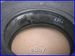 Set Of Honda Snow Blower Tire With Inner Tube 14x400x6