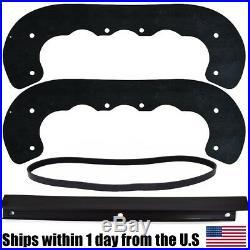Snow Blower Paddles Scraper Belt for Toro CCR2400 95-6151 99-9313 55-8760