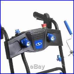 Snow Joe Cordless Two Stage Snow Blower 24-Inch 80 Volt 2 x 5 Ah Batteries