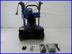 Snow Joe ION18SB-HYB 40V 4.0 Ah Hybrid Cordless Snow Blower, 18