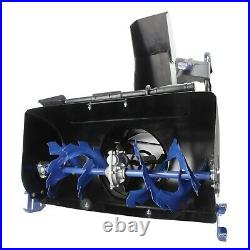 Snow Joe ION8024-XR 24In 80V Cordless Two Stage Snow Blower Blue