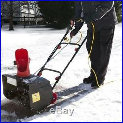 Snow Joe Red Electric Snow Thrower 18-Inch 13.5-Amp Certified Refurbished