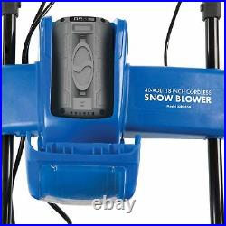 Snow Joe iON Cordless Single Stage Snow Blower 18-Inch 40 Volt Brushless