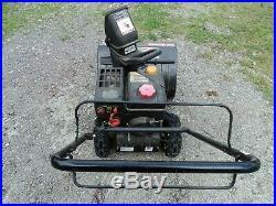 Snow blower yard machines 22'