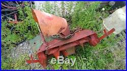 Snowblower attachment simplicity Allis Chalmers garden tractor