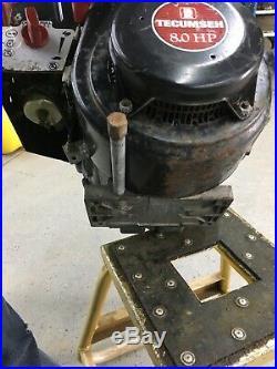TECUMSEH Craftsman HMSK80 8HP SNOW BLOWER ENGINE ELECTRIC START HM80 Runs Great