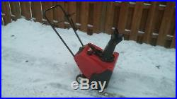 Toro CCR1000E Electric Start Snow blower Snow Blower. Chicagoland pick up