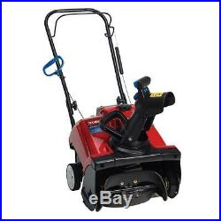 Toro Gas Snow Blower 18 in. 12 oz. Oil Capacity Manual Pitch Single-Stage