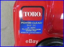 Toro Power Clear 518 ZE 18 in. Single-Stage Gas Snow Blower