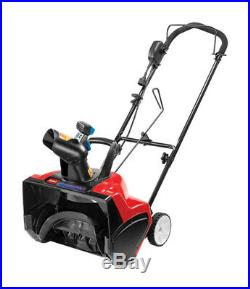 Toro Power Curve 18 in. W Single-Stage Electric Start Electric Snow Blower