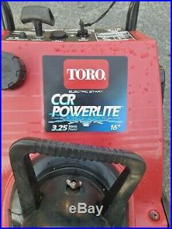 Toro Powerlite 3.25 HP Electric Start Gas Powered Snowblower