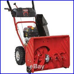 Troy-Bilt Gas Snow Blower 24 in. 208 cc 2-Stage Remote Crank Chute Control