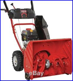 Troy-Bilt Snow Blower Two-Stage Electric Start Self Propelled Gas Adjustable
