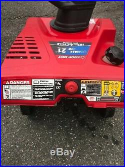 Troy-Bilt Squall 210 21-in Single-stage Gas Snow Blower PICK UP ONLY No Shipping