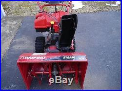 Troy Bilt Storm 7524 Gas 2-Stage 24 Snow Blower Thrower
