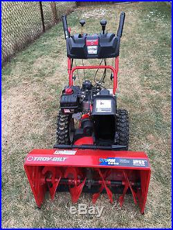 Troy Bilt Storm 9528 Snow Blower Thrower Two Stage 9 5 Hp