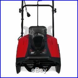 Ultra 1600W Electric Snow Blaster Blower 18 inch 180 Degree Driveway 13 amp