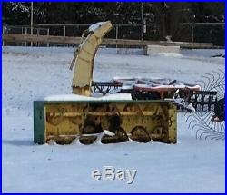 Used John Deere Jd 270 Snow Blower 3-point 540 Pto 2 Auger 84 Blower