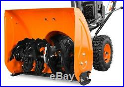 WEN SB24E 24 212cc Two-Stage Self-Propelled Gas Snow Blower with Electric Start