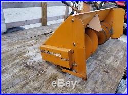 Woods St400 front mount snow blower (Grasshopper)