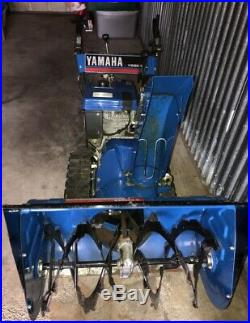 Yamaha YS-828 Blue Snowblower Excellent Condition Runs GREAT! A Must See Rare