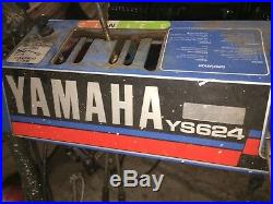 Yamaha ys-624 snowblower complete