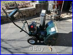 Yard Machines 5 Hp 22 Wide 2 Stage Snowblower Just Serviced Used