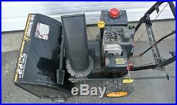 Yard Machines MTD 22 Snow Blower 5HP Tecumseh Electric Start 7 Speed Freeship