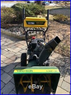 Yard-Man Snow Blower 5.5HP 22